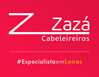 Zazá Cabeleireiros - Redes Sociais e Ecommerce