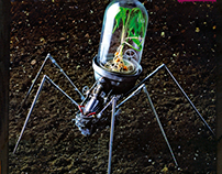WIRED SPIDER (kind of)