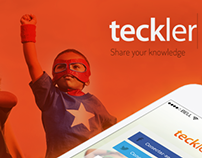 Teckler IOS App, Identity and Landing Page