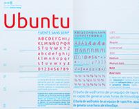 Espécimen Tipográfico / Ubuntu