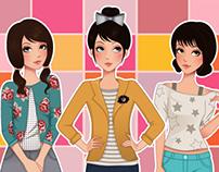 Teen Fashion Illustrations