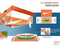 Nike Running Shoes Exhibit Design