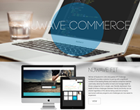 NuWave Commerce Website Design