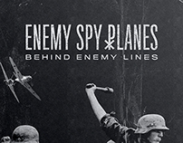 Enemy Spy Planes Album Artwork