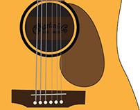 Martin Guitar Vector