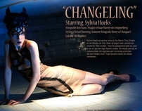 """Changeling""; a fotoshoot with actrice Sylvia Hoeks"