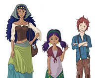Gypsy Character Designs