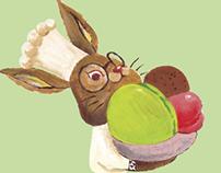 Selfish Rabbit Macarons Packaging