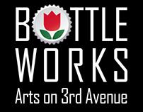 BOTTLE WORKS - Arts on 3rd Avenue, Branding Redesign