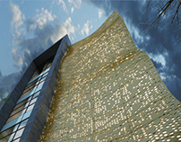 Office building in  Baku.Designed by Orkhan Afandiyev.