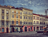 Dreamy Lviv city..
