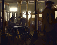 Peacky Blinders - Garrison Pub
