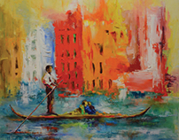Expressive paintings