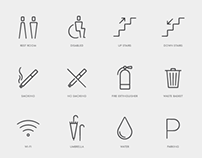 Cafe Pictogram Design