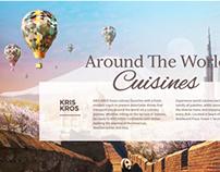 KrisKros Dubai / Landing Page