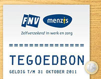 FNV/Menzis. Early Bird Direct Mail Campaign
