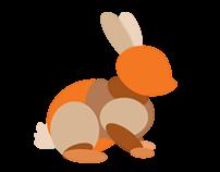 Rabbit Hopping Animation