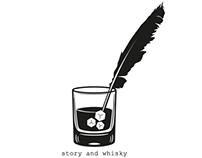 story & whiskey branding