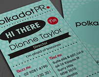 Polkadot PR Business Card