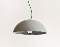 GLOBE / concrete lamp
