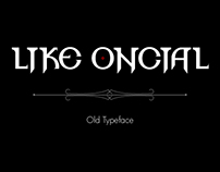 Like Oncial - Old Typeface
