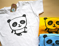 Character design on Kids tee