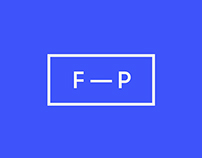 FP — Designer · Identity and website.