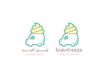 Brainfreeze Soft Ice Cream Brand