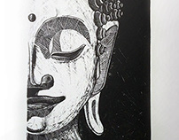 Lithography - Buddhism