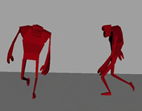 3D Animation Walk Cycle