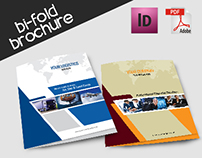 Multi Purpose Bi-Fold Brochure 3