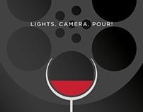 Wine ad for Tribeca Film Festival