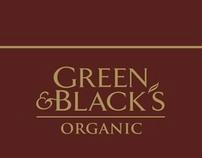 Green & Blacks Posters