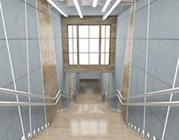 EXPO centr Moscow staircase