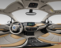 2014 BMW i3advanced  panoramic view