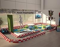 Porsche kid area