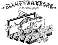 Newspaper illustrations