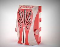 Coca-Cola Concept Low-cost Portable FM Radio