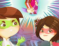 The Amazing Adventures of Eco Boy, Volume 3