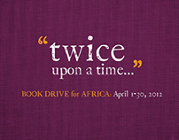 Book Drive for Africa