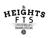 Heights Football Training Systems Branding