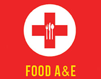"""""""Food A&E"""" - Ad Campaign of Jamie Oliver Restaurant"""