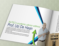 BizTech Challenge (the Technion Isrel)- brochure design