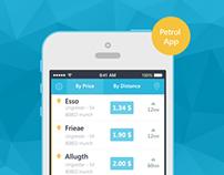 Petrol App Design