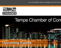 Tempe Chamber of Commerce Email Newsletters
