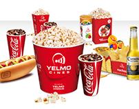 Yelmo Cines Menús Coca-Cola