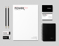 PowerTech Electrical : Logo Design