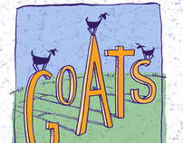 Goats (and My Hatred of Goat Cheese)