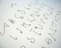 slide font