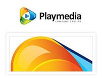 Play Media Logo Template